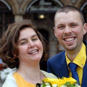huwelijk david en an