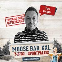 DJ Tom draaide tijdens Moose Bar XXL